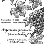 Brahm's Requiem: Broomfield Choral Festival